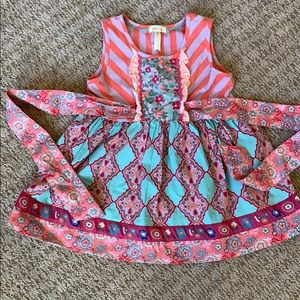 Excellent, like new, Matilda Jane, size 8 top